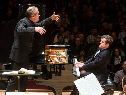 Fantastic reviews for Benjamin's Boston Symphony debut