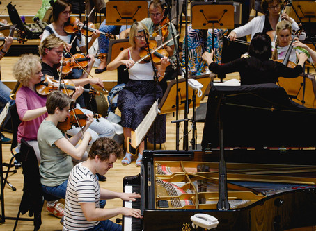Benjamin to release new recording of Chopin Concertos