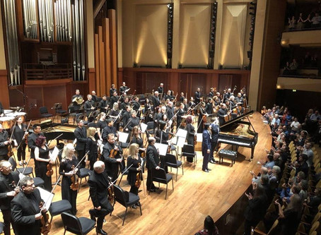 Glowing review for Benjamin's performance with the Seattle Symphony