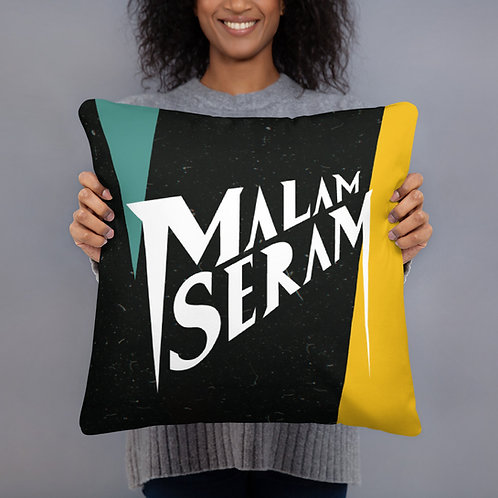 Malam Seram Square Pillow Full Design