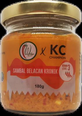 KC Champion Sambal Belacan Kronik