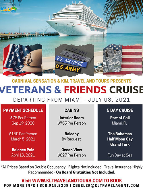 Veterans and Cruise