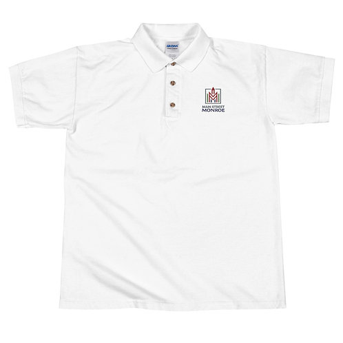 Main Street Embroidered Polo Shirt