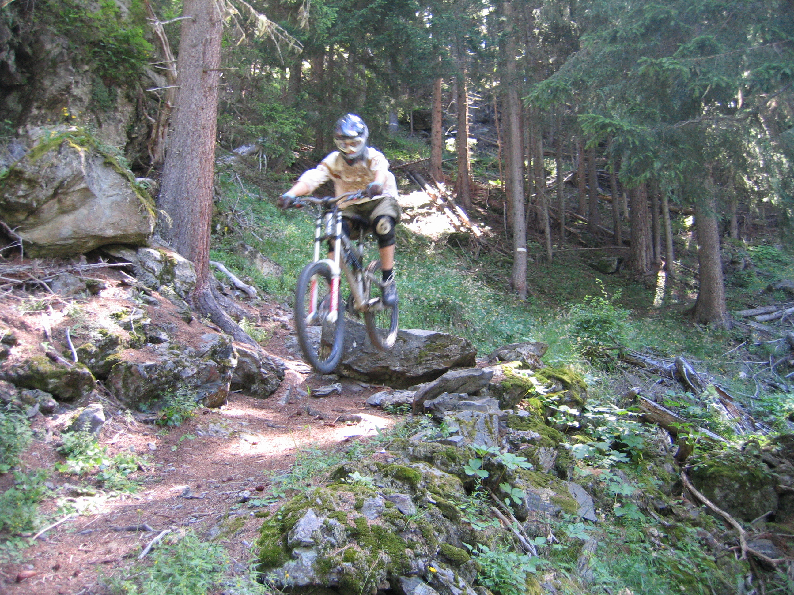 Sainte Foy Mountain Biking