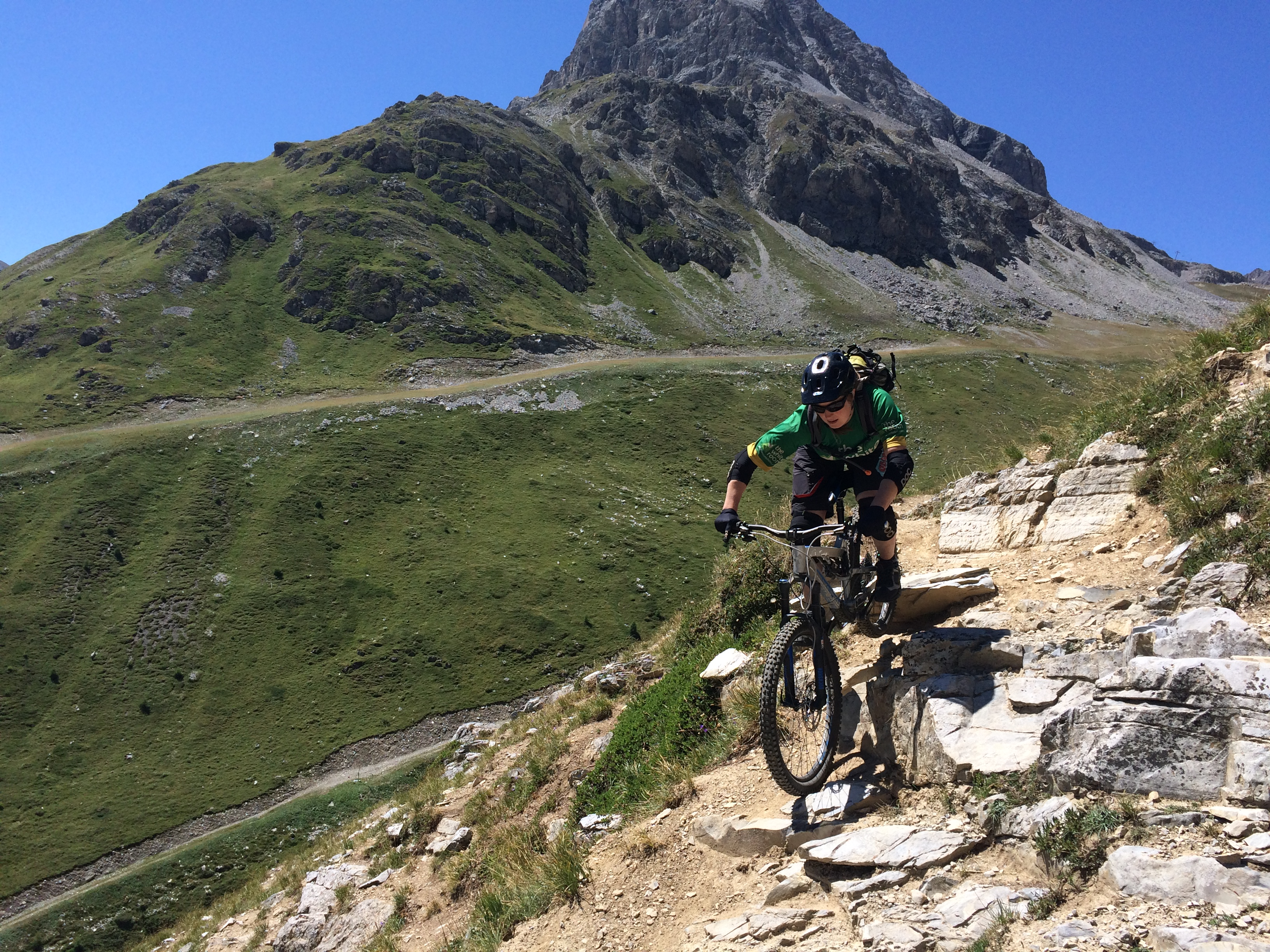 Val d'Isere with White Room MTB