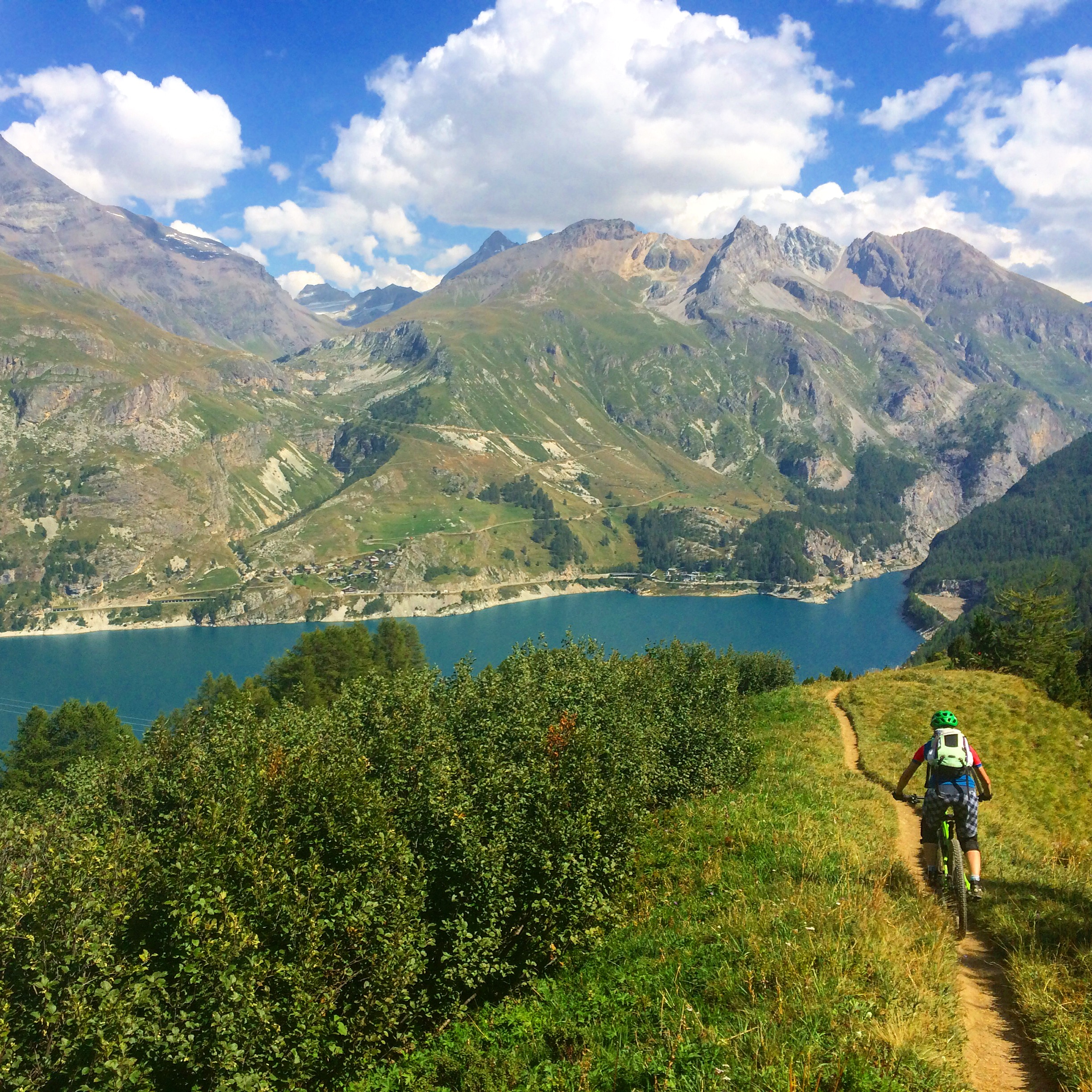 Tignes mountain biking