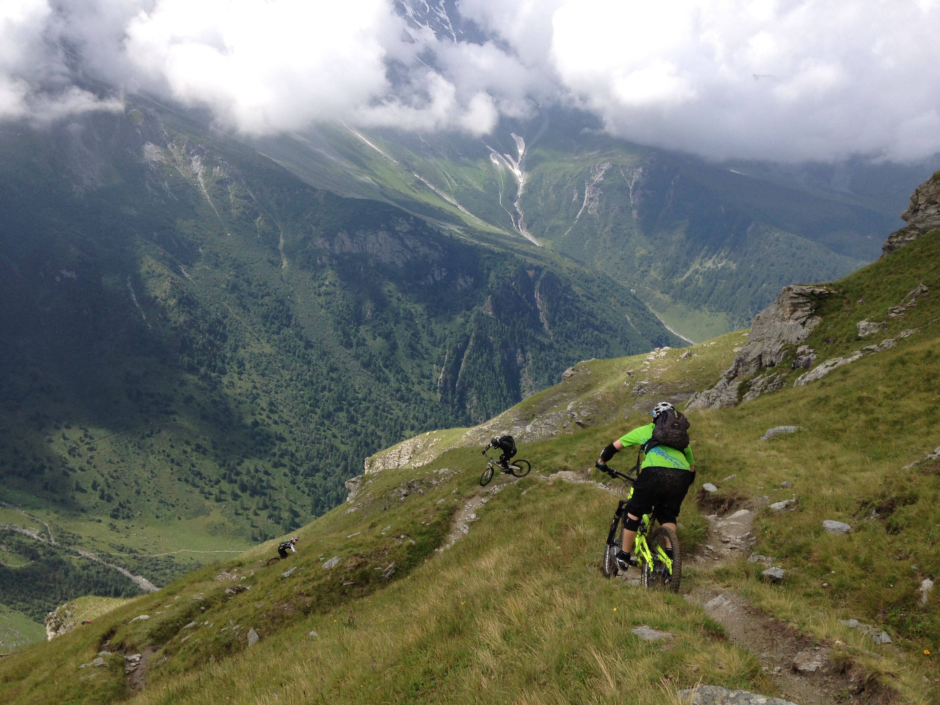 Les Arcs with White Room MTB