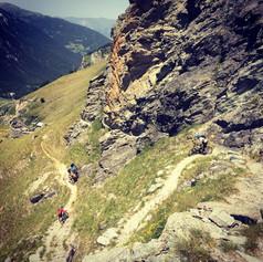 Mountain biking in Les Arcs with White Room MTB
