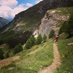 Sainte Foy Mountain Biking