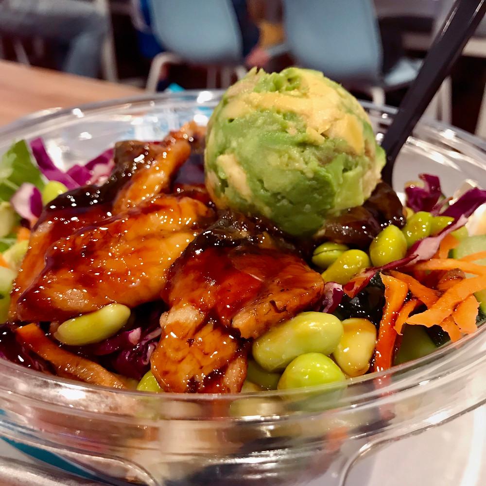 Poke bowl New braunfels, New Braunfels Asian restaurant, keto restaurant in new braunfels, Gainz bakery, gainz bakery new braunfels, Japanese restaurant in New braunfels, Ohana Poke and Sushi Burrito