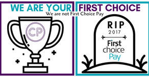 Cosmo Payment - We are not First Choice Pay