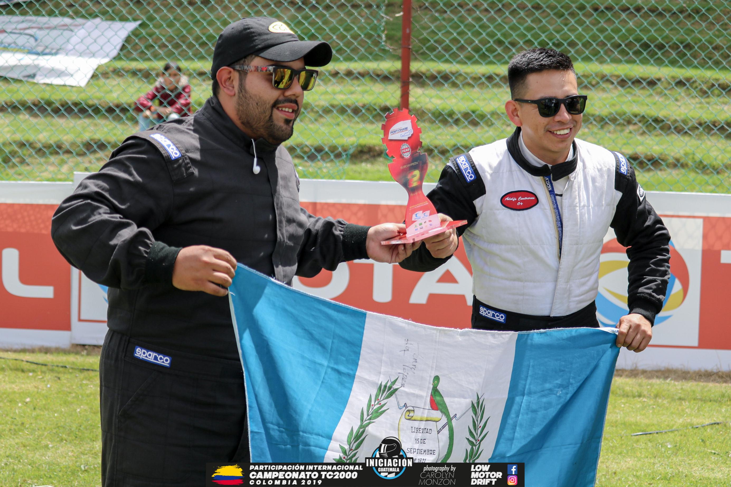 Jonatan Leiva y Adolfo Contreras