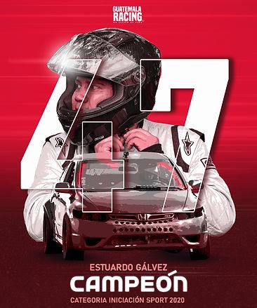 Estuardo Gálvez Poster Oficial Redes soc