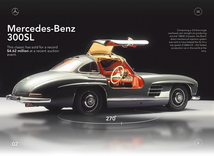 Mercedez-Benz 300SL