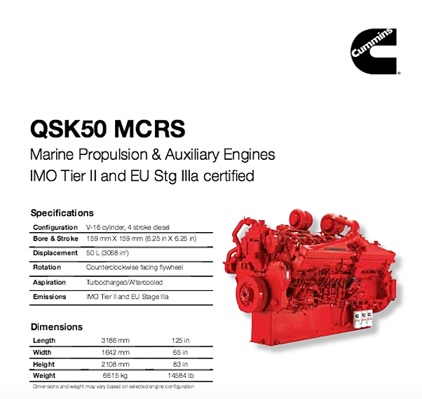 galarneaumarine supply crew vessel marinecontent sitecontent en binary asset attachments products commercial propulsion qsk50 qsk50 imo tier ii and eu stg iiia certified ratings ss pdf