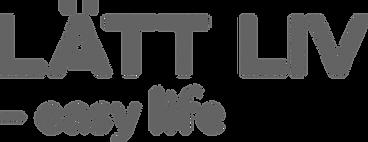 Latt Liv easy life left logo R100G100B10