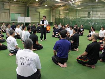 宇城道塾 2020年 秋季合同合宿が開催されました