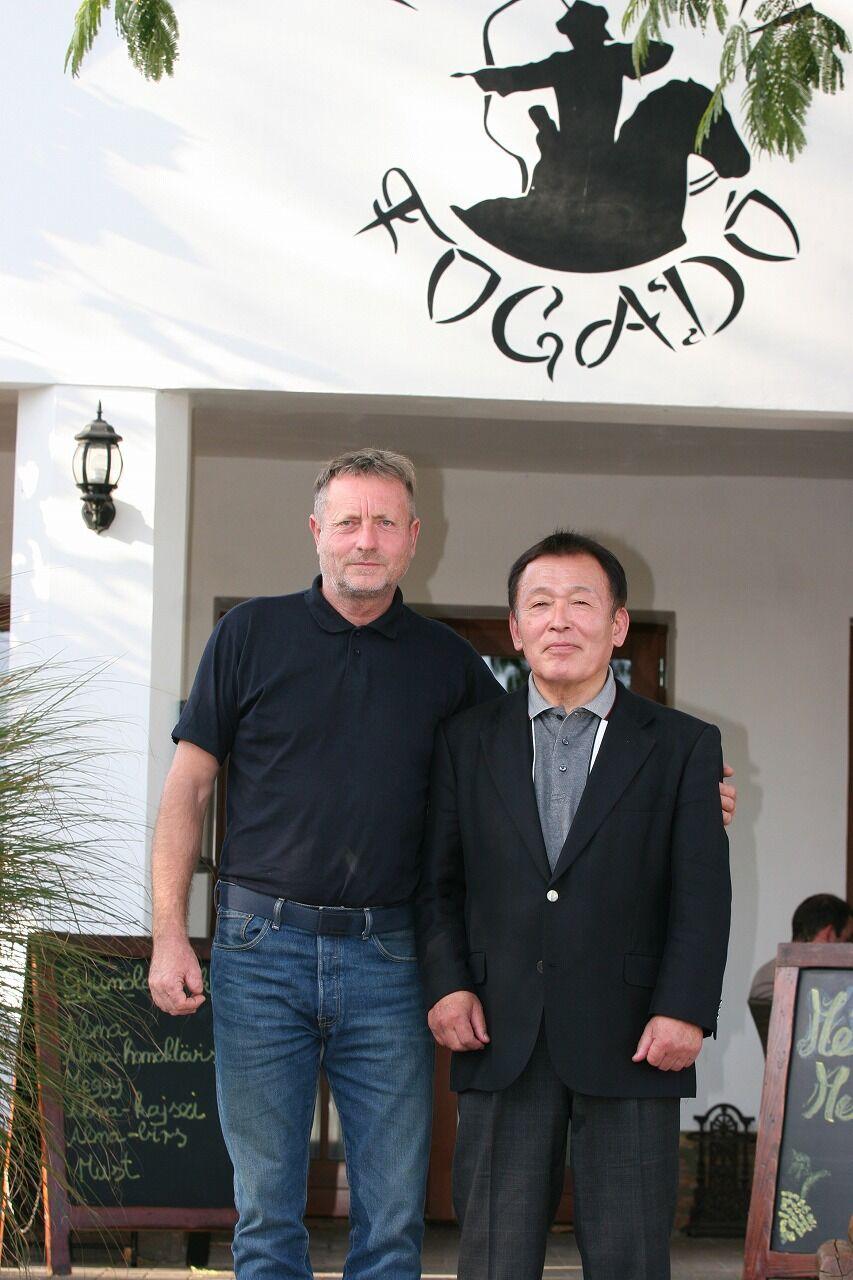 Mr. Kassai and Ushiro Sensei