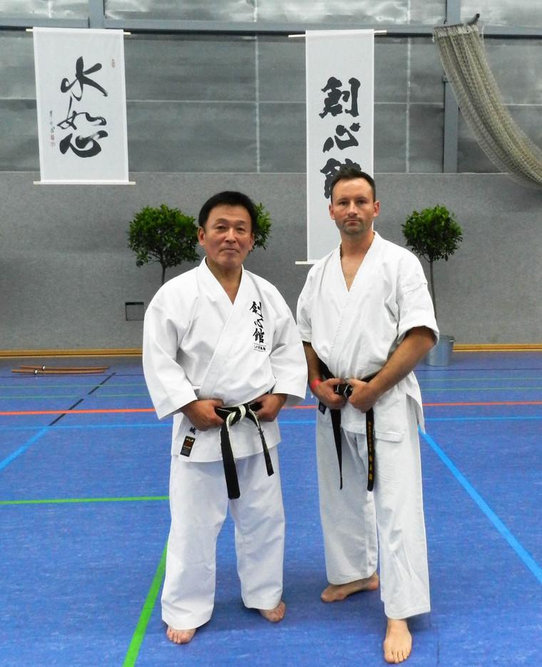 Ushiro Sensei and Marcin Żylińsk