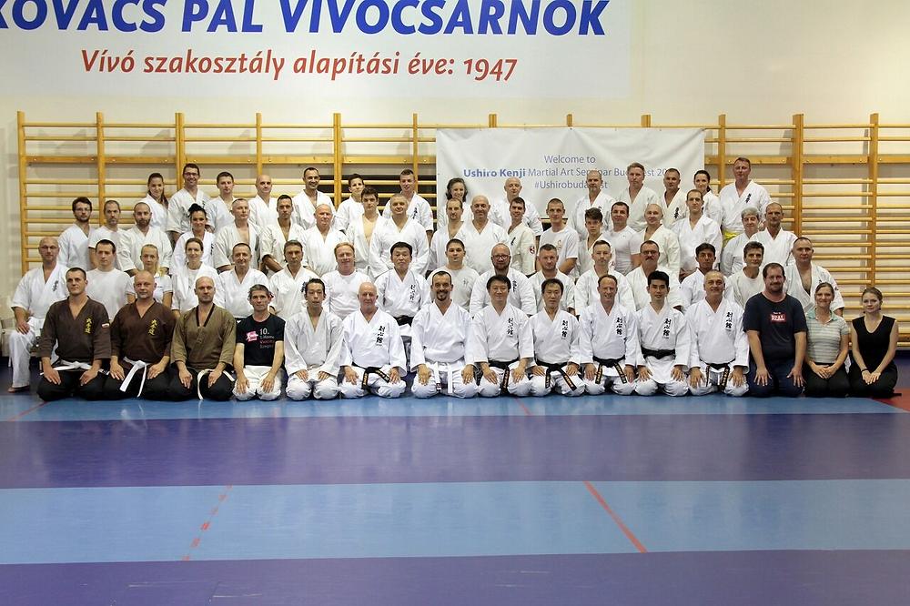 ハンガリーセミナー参加者一同