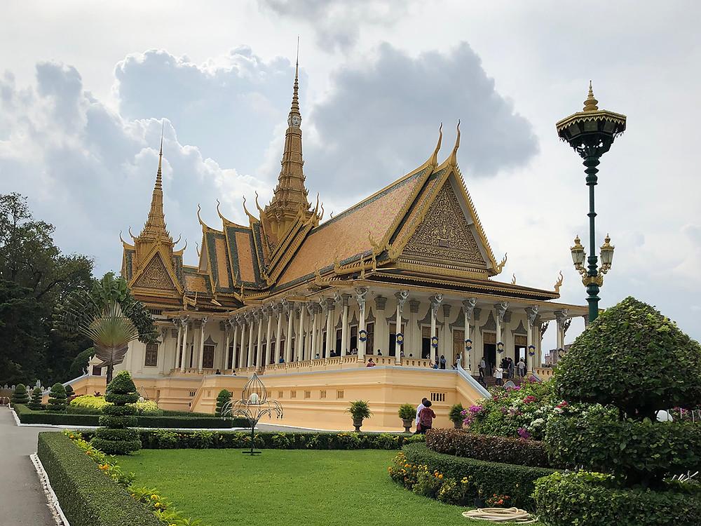カンボジア王宮「即位殿」