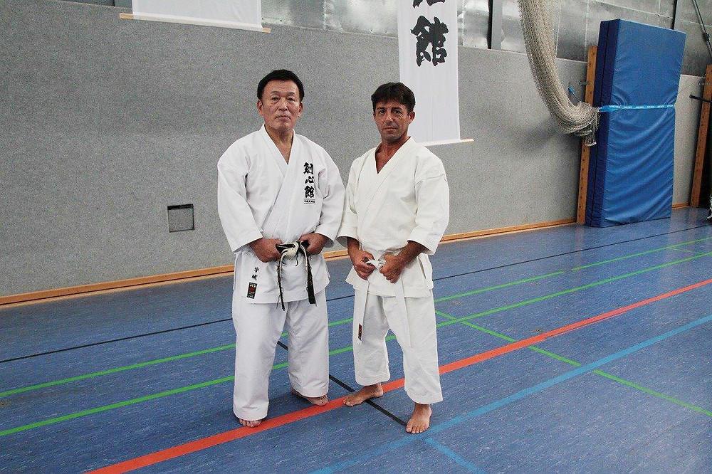 宇城塾長とアルゼンチーノ・エマニュエル氏