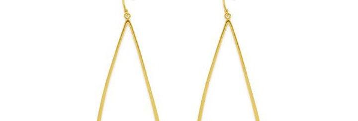 Gingold hook earrings