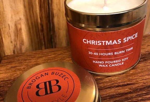Christmas Spice Soy Wax Tin Candle