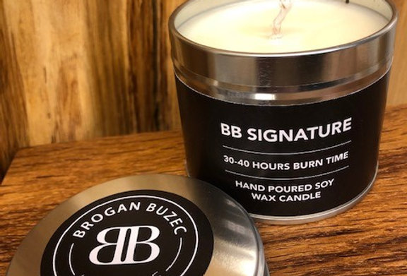 BB Signature Soy Tin Candle