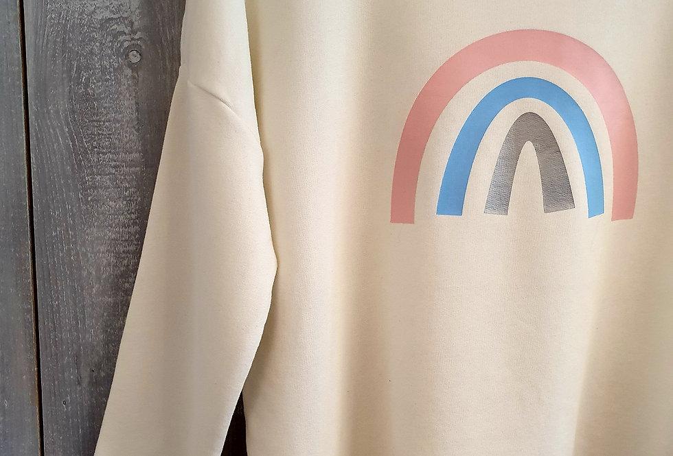 Pastel Rainbow - Cream