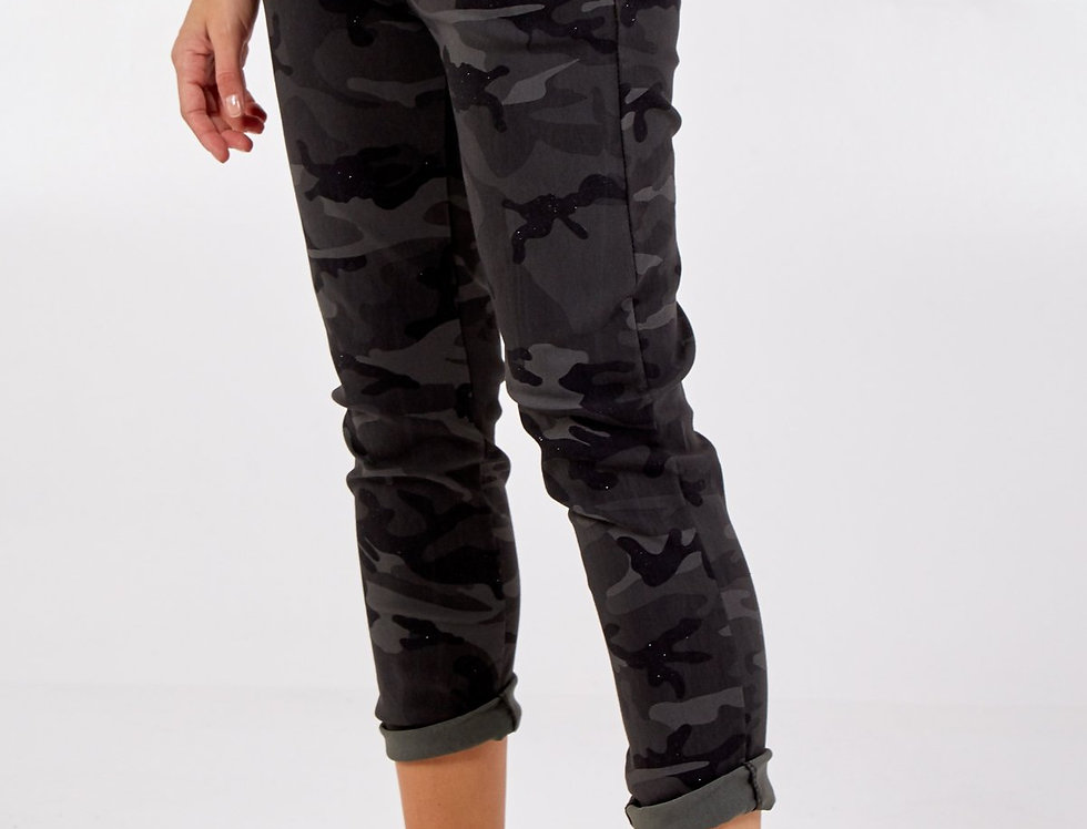 Magic Sparkly Camouflage Joggers