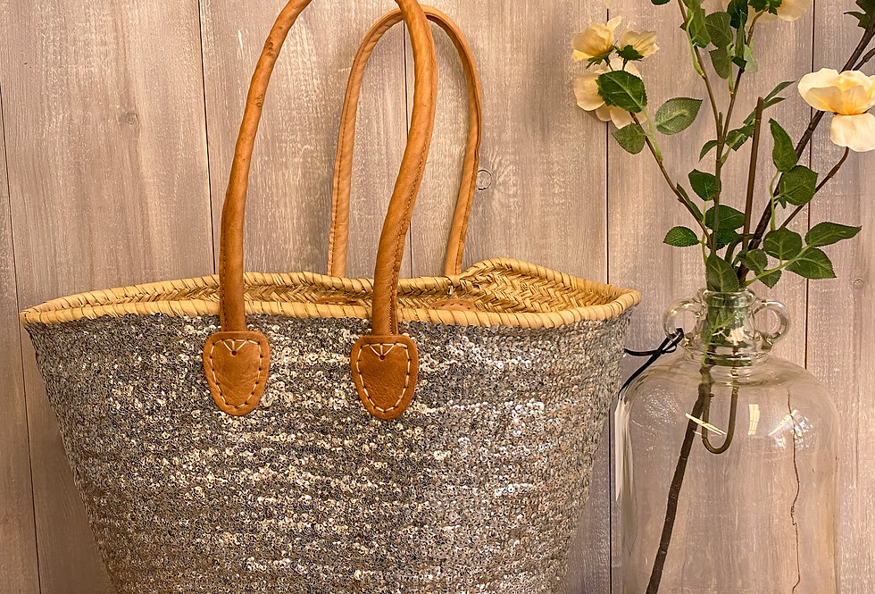 Marie Sequinn French Basket | Silver