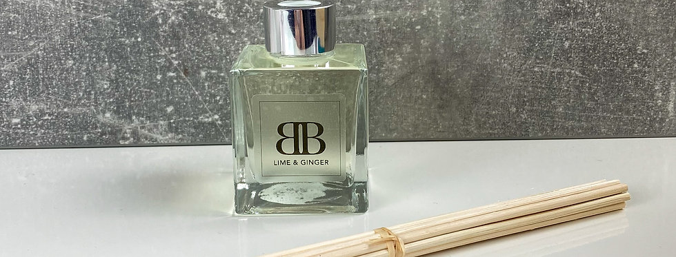 White Label Room Diffuser | Lime & Ginger