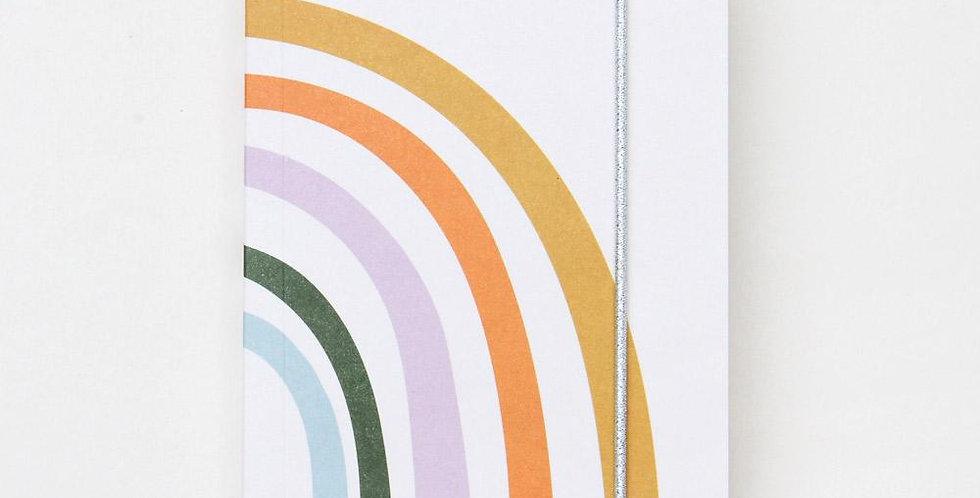 Rainbow Small Jotter Notebook
