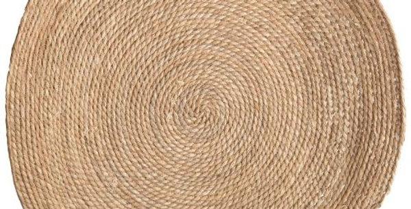 Seagrass Mat Round Natural