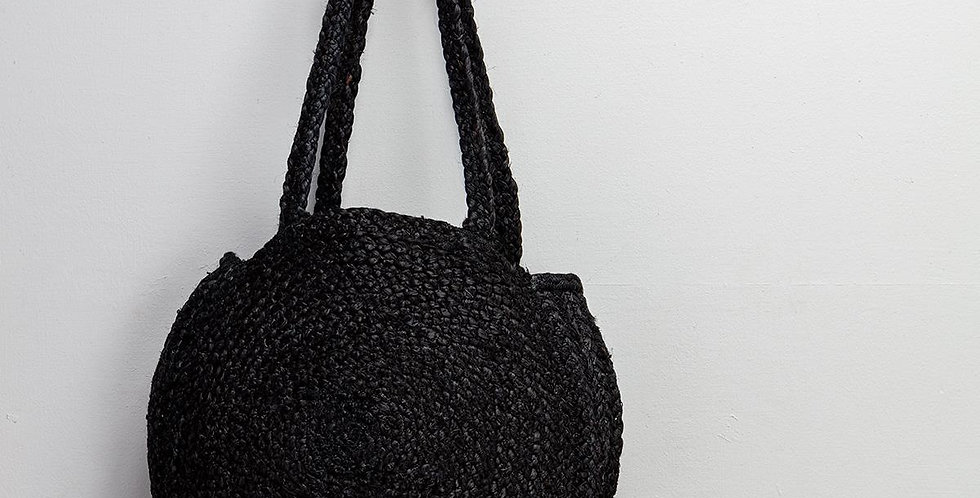 Circular Shopper - Black