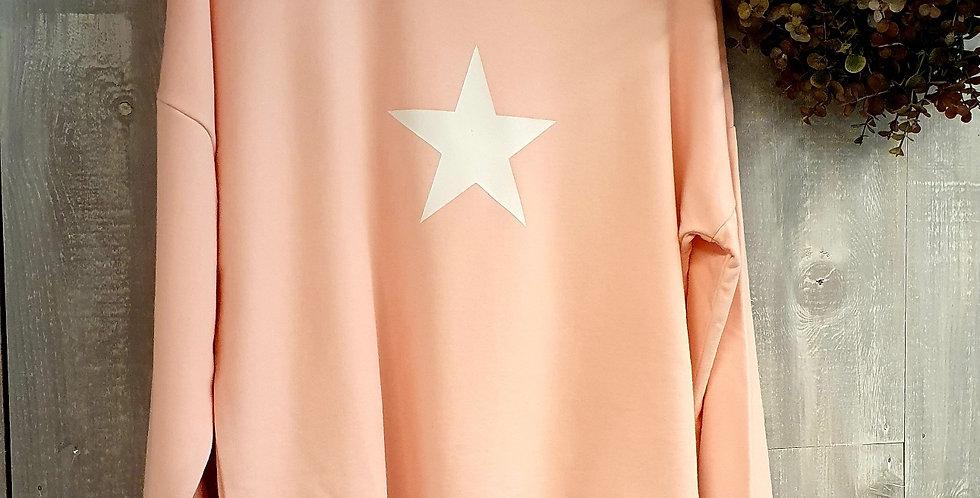 White Star BB Sweat - Baby Pink
