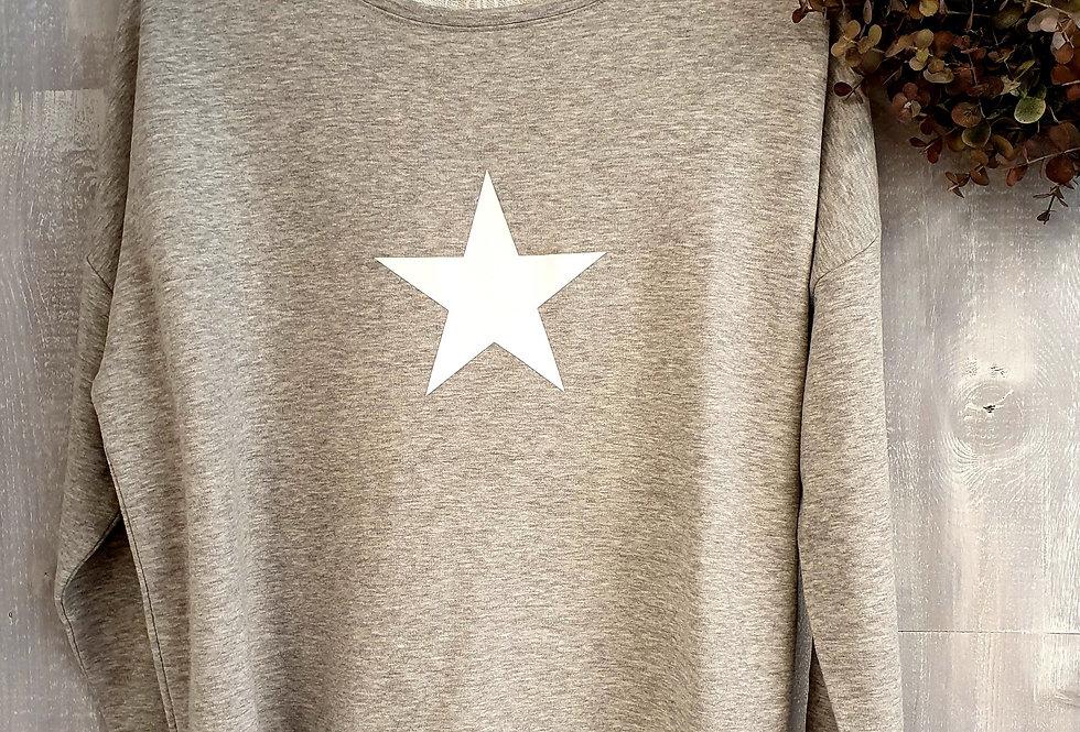 White Star BB Sweat - French Grey