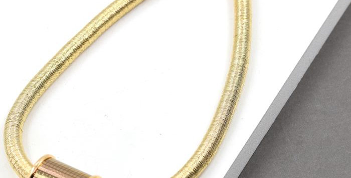 Barrel Pendant Necklace
