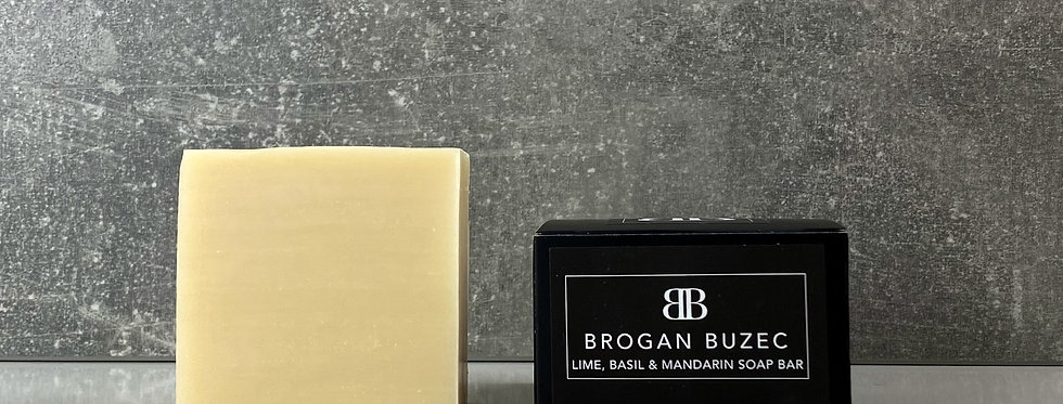 Black Label BB Soap | Lime, Basil & Mandarin