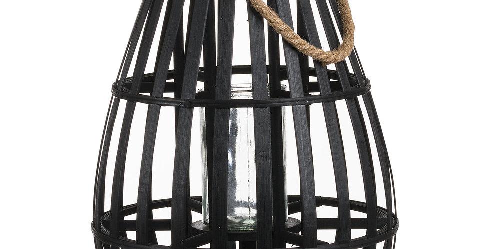 Doomed Wicker Basket - Black