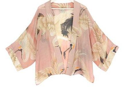 Stork Plaster Pink Kimono