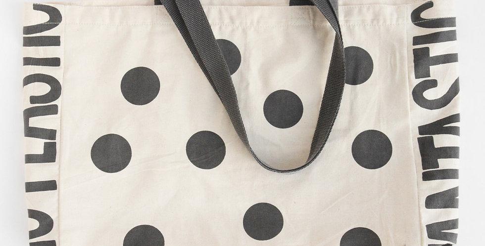 Fantastic No Plastic Canvas Tote Bag