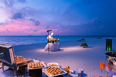 Meeru Romantic Beach Dinner