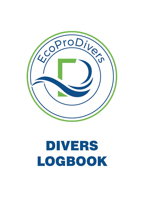 DIVER´S LOGBOOK RECYCLED PAPER