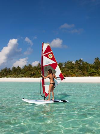 Meeru Windsurfing