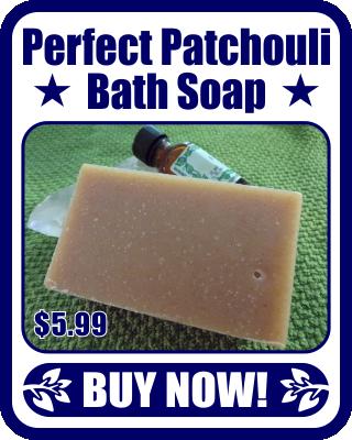 Perfect Patchouli Bath Soap