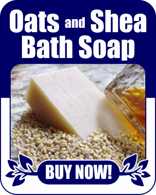 Oats and Shea Bath Soap