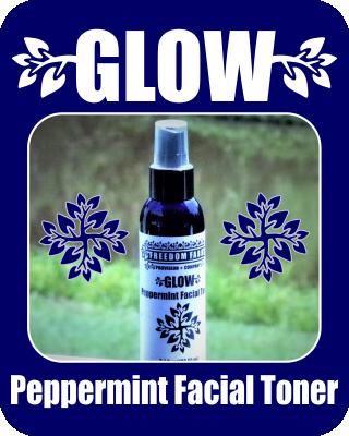 GLOW Peppermint Facial Toner