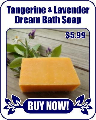 Tangerine Lavender Dream Bath Soap